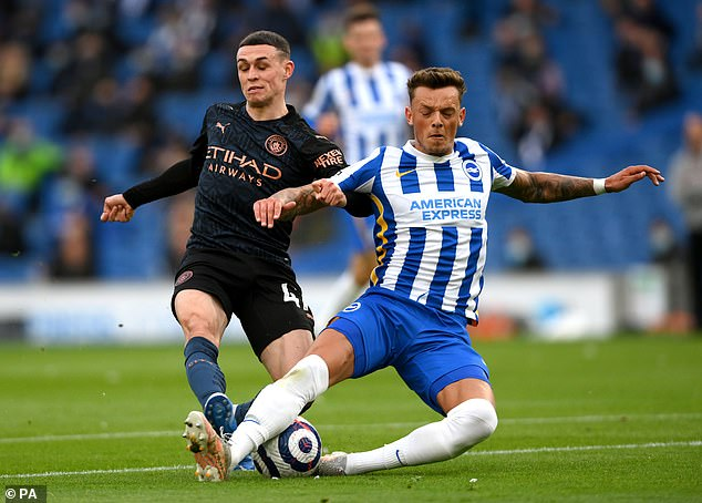 Brighton have slapped a £50million price tag on the 23-year-old to ward off any suitors