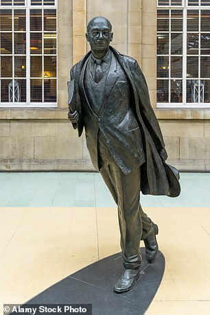 Hull's statue of the poet Philip Larkin. The city will be celebrating his centenary next year