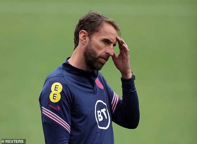 The statistic will be a concern to Gareth Southgate whose England side face Croatia on Sunday