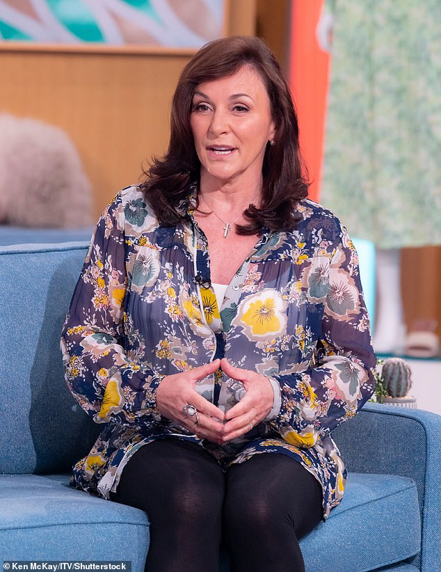 Struggles:Shirley Ballas has detailed her ordeal after previously being struck down with coronavirus, admitting at one point she didn't even 'know my own name'