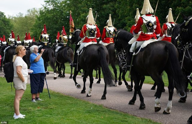 Covid guidelines will be followed during the event which will incorporate many elements of the annual Queen's Birthday Parade