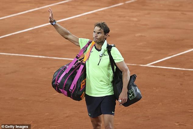 Rafael Nadal has cast doubt on if he will play at Wimbledon following defeat to Novak Djokovic