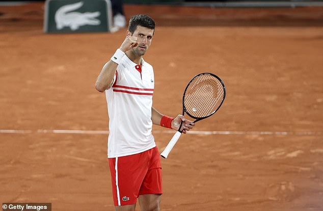 The Serbian will claim his 19th grand slam with victory over Tsitsipas at Roland Garros