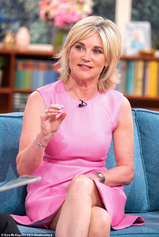 Candid:This comes after Anthea opened up about her past 'feud' with Eamonn Holmes , which resulted in her leaving her job at GMTV (pictured in 2018)