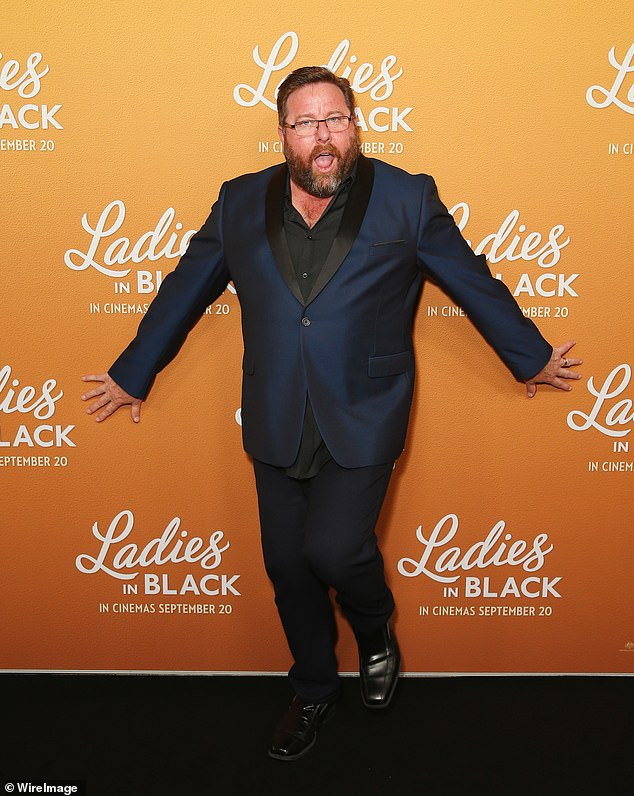 Stepping back into position: Shane Jacobson (pictured) starred on the 2019 season of AGT alongside Lucy Durack, Nicole Scherzinger and Manu Feildel