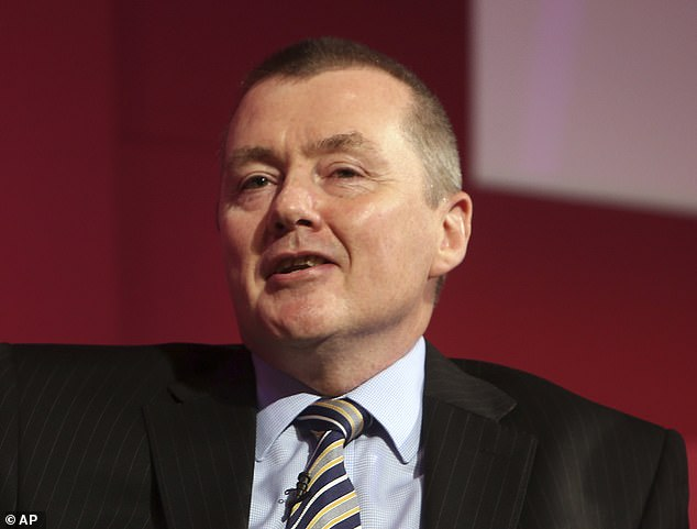 Tough talk: Willie Walsh led British Airways' owner IAG from 2011 to 2020