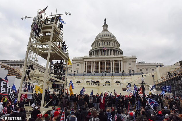 Thousands of rioters broke through barricades of the Capitol building on Jan. 6 and forced Congress to evacuate