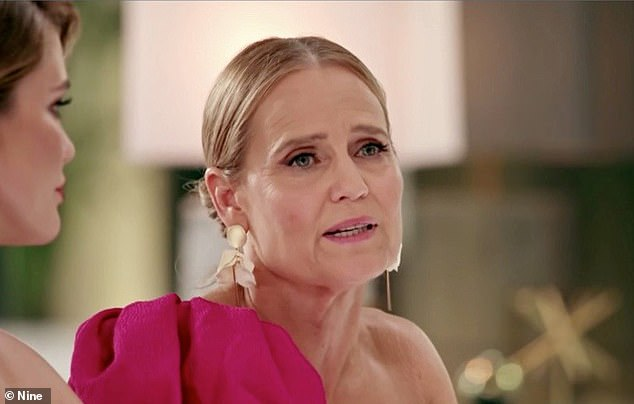 Fighting back: Shaynna Blaze (pictured) even called out Lord Sugar after he told her she had a 'face like a slapped a**e'