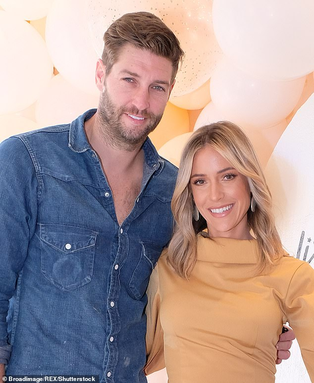 Moving on: after her split from her ex-partner, Cavallari was linked to Southern Charm cast member Jeff Dye and Austen Kroll;  she is seen with Cutler in 2019