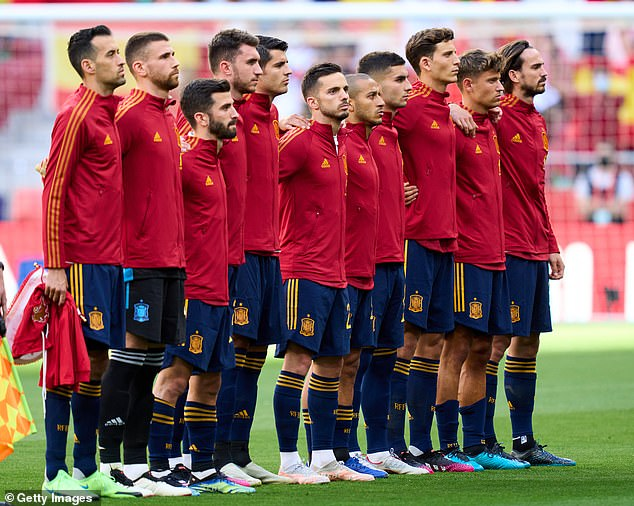 Some Spain fans are hoping that the players do not take a knee ahead of their opener