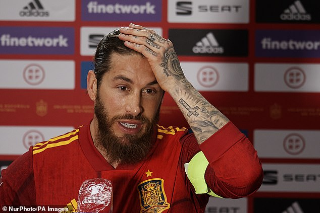 Laporte is in but Sergio Ramos wasn't selected in the final squad following injury problems