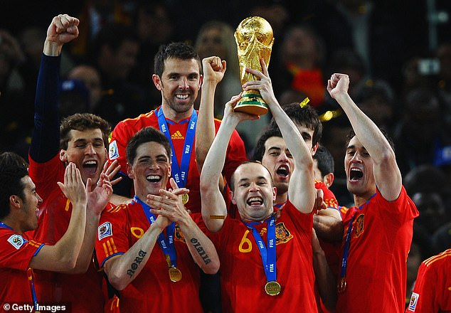 Spain were brilliant World Cup winners in 2010 - the centrepiece of three tournament wins