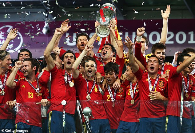 Spain added another European Championship title in 2012 but it's been all downhill since