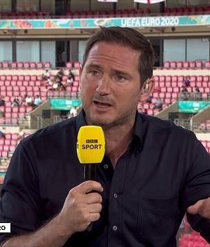 Former England midfielder Frank Lampard