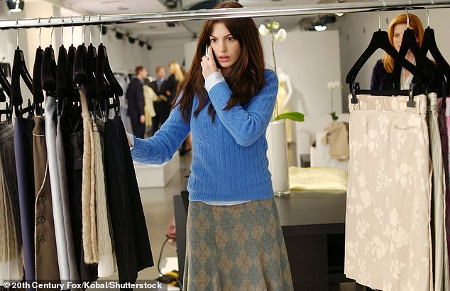 Shocking: In February while promoting her film Locked Down, Hathaway shockingly revealed she was the ninth choice to star as the leading lady of The Devil Wears Prada on an episode of RuPaul's Drag Race