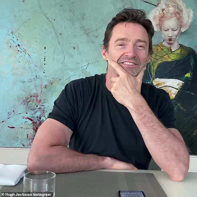 Reminiscing:Australian actor Hugh Jackman revealed his first kiss on an Instagram Q&A while in Sydney hotel quarantine. He then added that he saw the woman again just over a year ago
