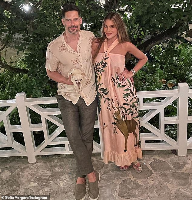Going strong: She and Joe had their first date in the summer of 2014, and they got engaged on Christmas Day of that year. They married in Palm Beach, Florida, in November 2015