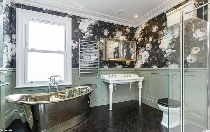 Wow:Upstairs, there are a further two levels, with a first floor guest bedroom at the rear of the house boasting an en-suite shower room, with a remote control shower so guests can preheat the shower from the comfort of their bed