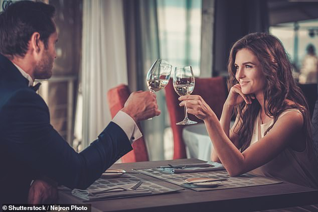 Blind dates may be risky as you have had no chance to get to know someone as friends first (stock image)