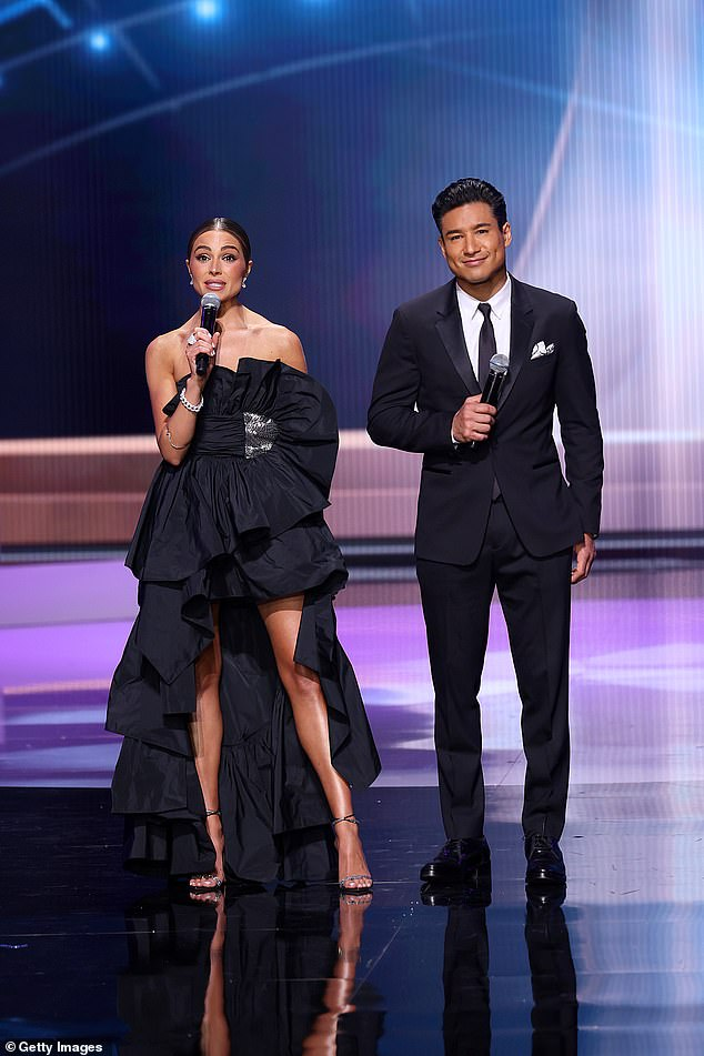 Dynamic duo: Olivia recently returned to her roots as a beauty queen by co-hosting the 69th Miss Universe pageant alongside Mario Lopez in the middle of last month