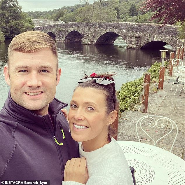 Wedding bells! Kym announced her engagement to her beau Scott on Saturday after he proposed on her birthday over the weekend