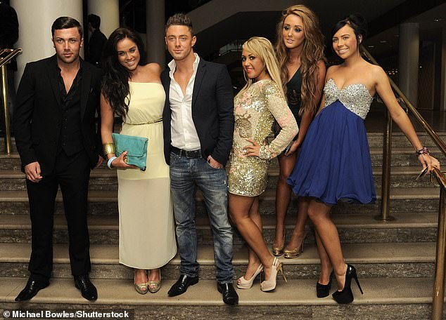 Monitoring: The cast are required to self isolate before filming this year, to prevent the spread of coronavirus, and they are monitored by security 24/7 (pictured 2012 Geordie Shore stars)