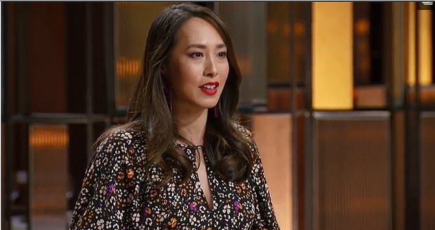 Angry: MasterChef judge Melissa Leong (pictured) has slammed a fan on Tuesday night who questioned the show's focus on curry