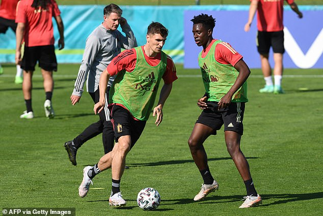 The midfielder has been included on Belgium's stand-by list for their Euro 2020 squad