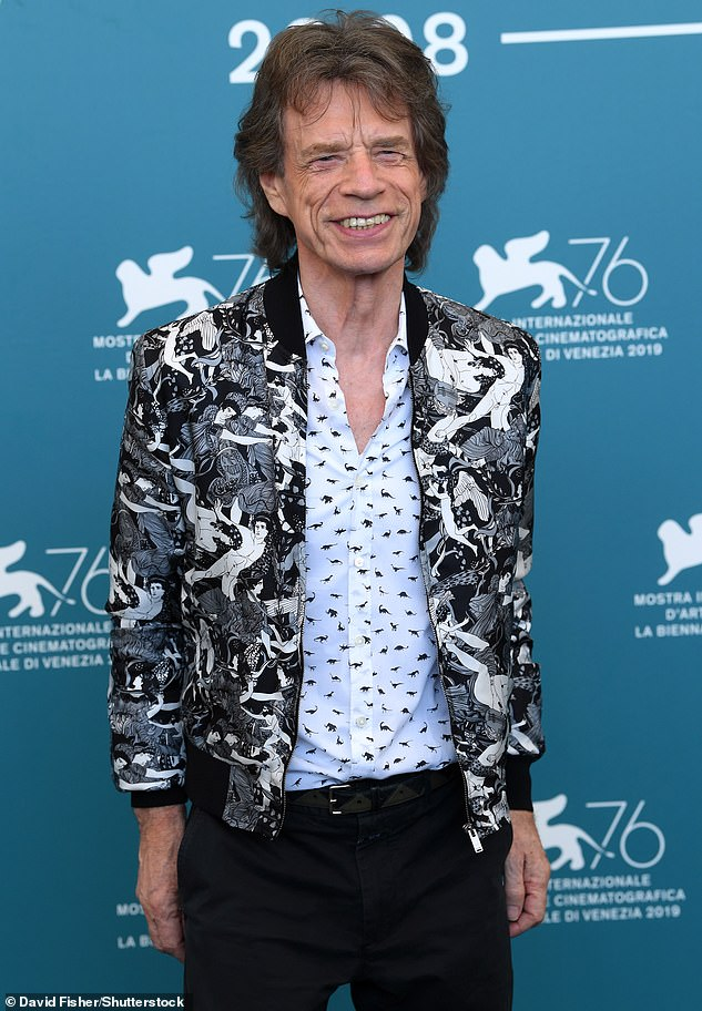 Story: Keith, 77, worked with Mick, 77, for five decades as members of the Rolling Stones (Mick pictured in 2019)