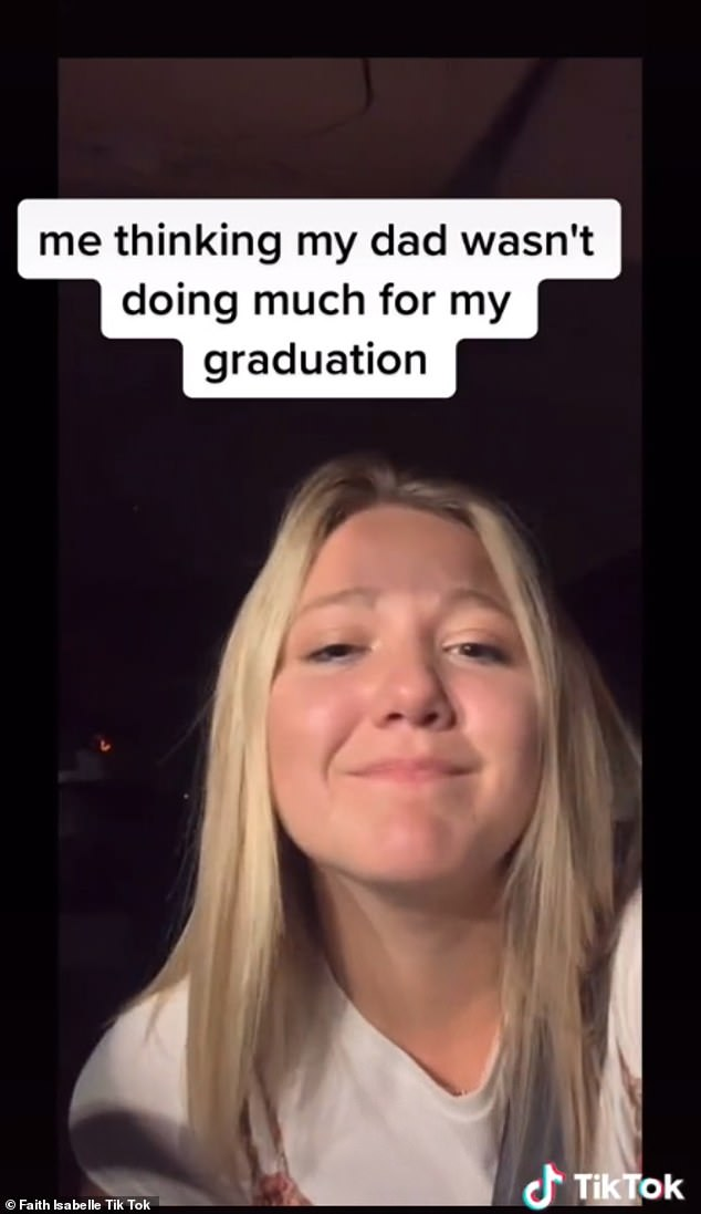 Congratulations!  Faith Isabelle is the young woman who graduated from high school