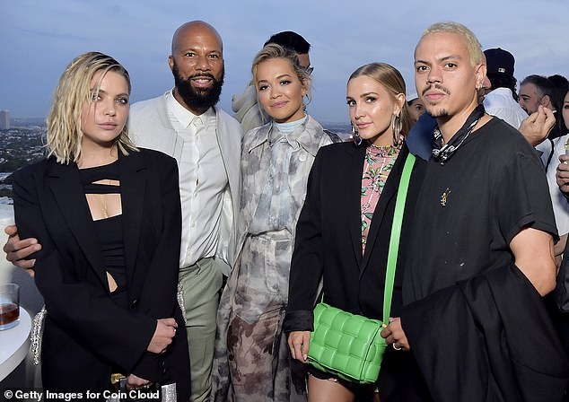 Star-studded: Event, hosted by Common, attracted many stars after more than a year of pandemic restrictions