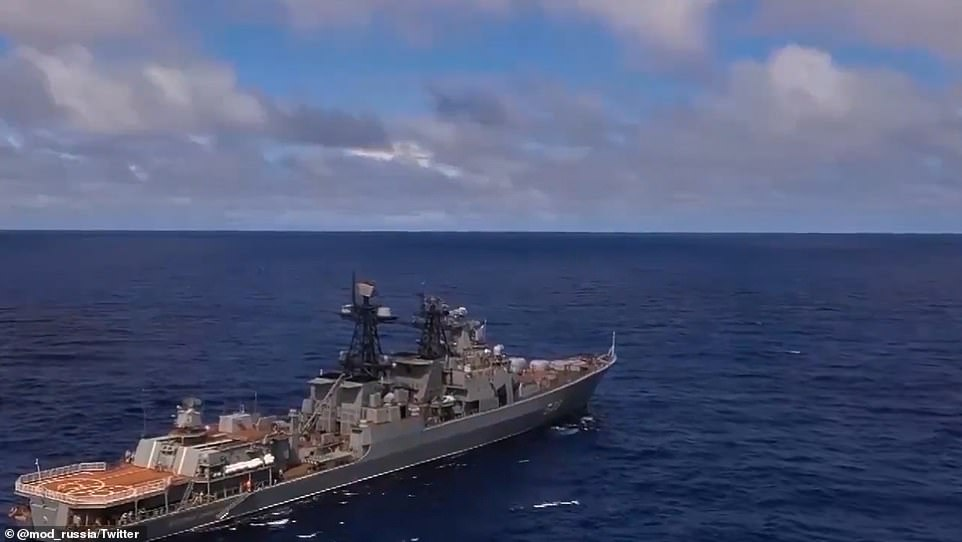 Russian President Vladimir Putin is putting on a show of force with the largest naval exercises in the Pacific Ocean since the end of the Cold War ahead of a meeting with Biden