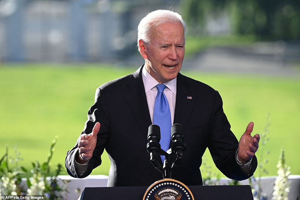 'Wise guy': President Joe Biden tore into a CNN reporter who asked how he could believe Putin would change his behavior, then apologized