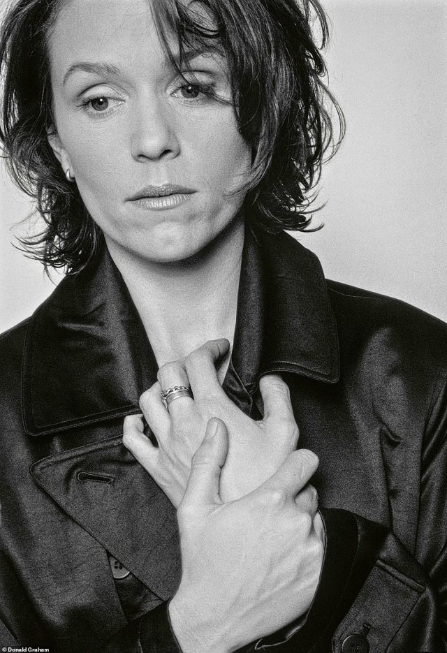 Frances McDormand has won numerous accolades for her work, including three Academy Awards for Best Actress that includes the recent win for Nomadland.'There's no pretense about anything Frances McDormand does,' Graham told DailyMail.com. 'She is herself to her core.' He took the above portrait, Frances McDormand, Los Angeles, California, for Movieline Magazine in 1996