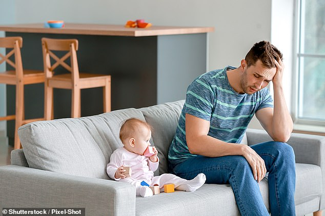 A study be researchers in Chicago finds that 17% of men suffer from postpartum depression. The condition is often strongly associated with women only