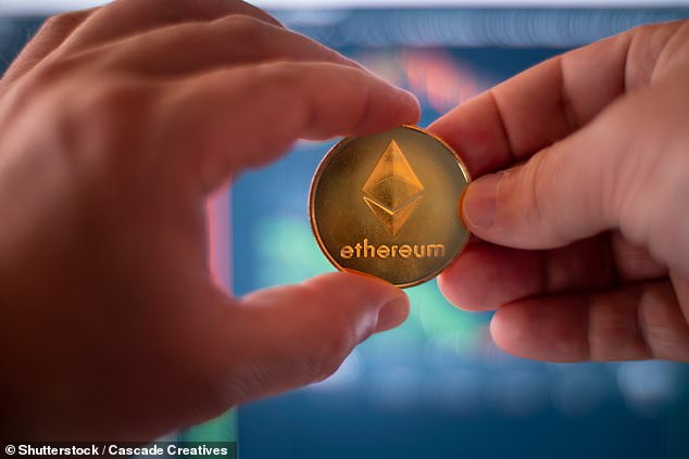 Someone investing $10,000 is advised to only dedicate 3 per cent of that to cryptocurrencies, which works out at $300.While Bitcoin is a store of value, Ethereum is a new benchmark alternative to business banking, known as decentralised financing