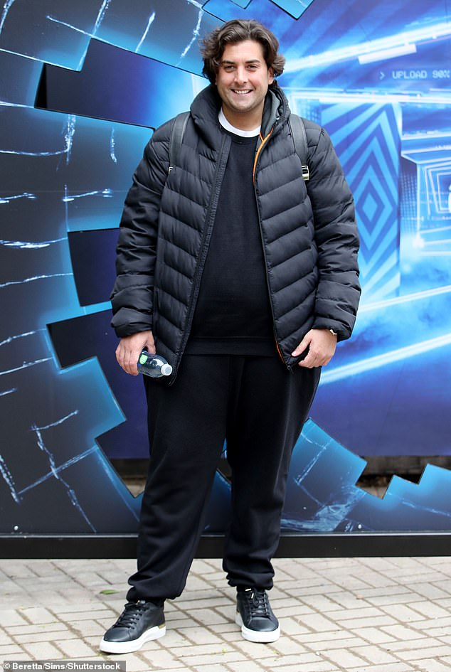 Feeling good: James Argent reportedly feels '10 years younger' after losing five stone, following his gastric sleeve surgery in April (pictured on May 20)