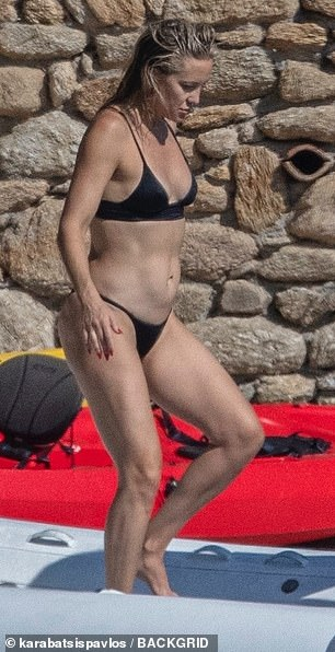 Active: Kate recently admitted that she uses sex to keep fit.  The 42-year-old is a Weight Watchers Ambassador - now known as WW -