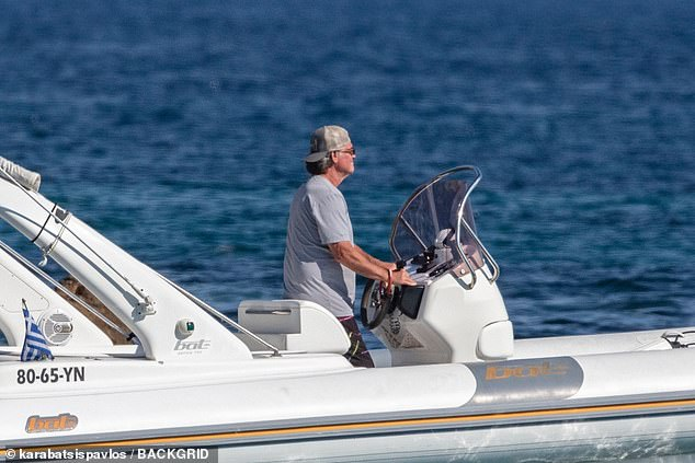 See you!  Kurt was seen driving the boat away from shore after dropping everyone off