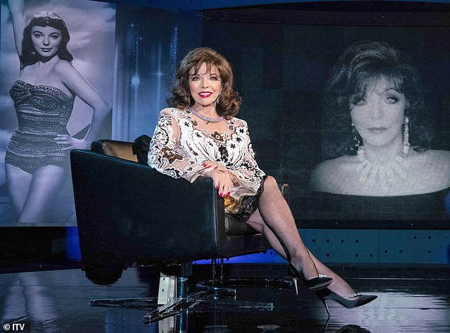 Tune in: Joan reflects on her career and love life on Piers Morgan's Life Stories on Sunday