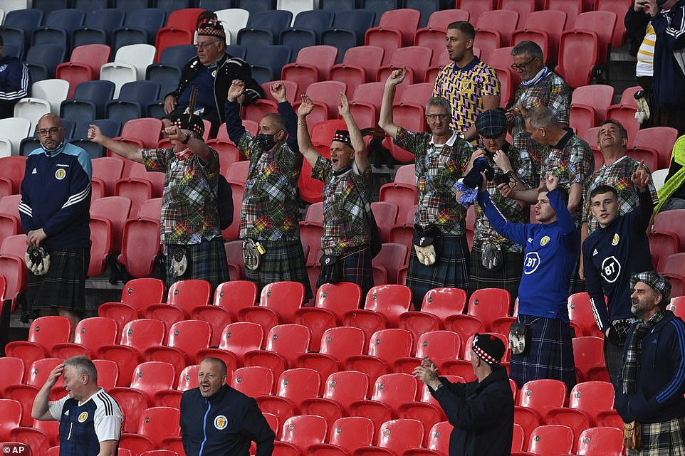 But there were concerns among football bosses that both sets of fans would boo the two teams when they take the knee in a show against racism