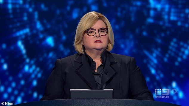 You are the Weakest Link! Channel Nine's rebooted quiz show is airing special episodes despite struggling in the ratings since returning to Aussie screens last month. Pictured: host Magda Szubanski