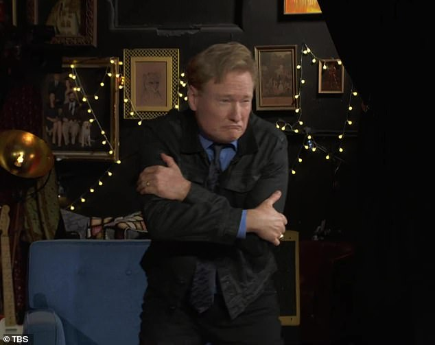 Conan's turn!O'Brien jumped in to share his own quick take on her recollection of the moment