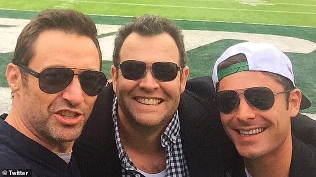 Don't have it!  Former Triple M radio host Gus Worland (center) recalled the moment he once stood on Sunday