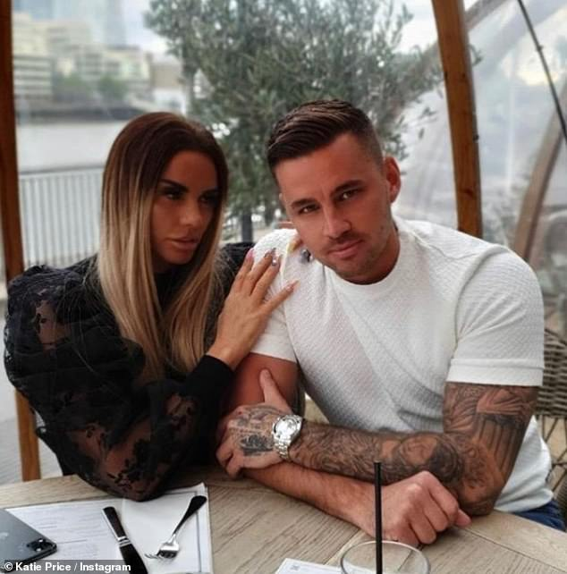 Future plans:Katie has made no secret of her desire to have children with her new beau and revealed last month she had turned to IVF for help to conceive