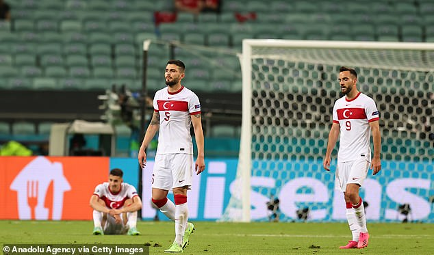Euro 2020 dark horses Turkey are out of the tournament after losing all three group games