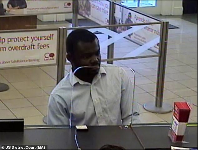 In one case, a victim was said to have transferred $137,000 to bank accounts controlled by Okuo (pictured) and Musau