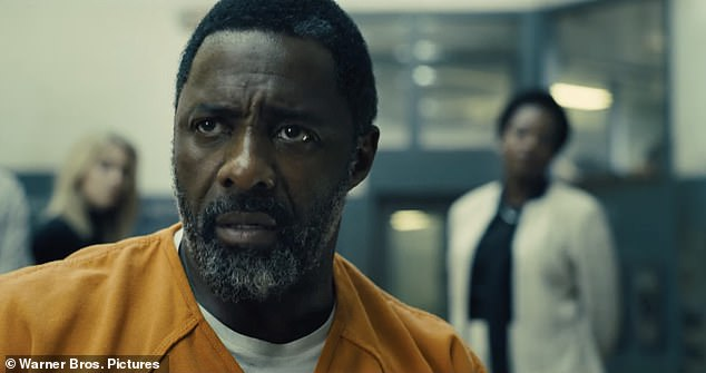 Super-villain:The trailer opens with Idris Elba as Robert DuBois who is imprisoned for 'putting Superman in the ICU with a kryptonite bullet'