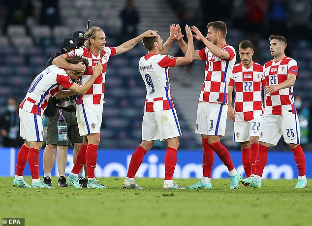 Scotland would've qualified if they'd won but it's Croatia who got through after a classy display