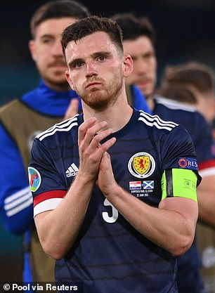 Andy Robertson wants Scotland to build on their Euro 2020 experience